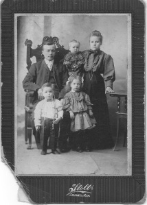 The Wuolles, Calumet, Michigan - early 1900s.